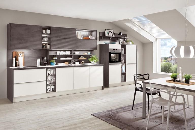 Simones Küchenblock - Beton und Metall