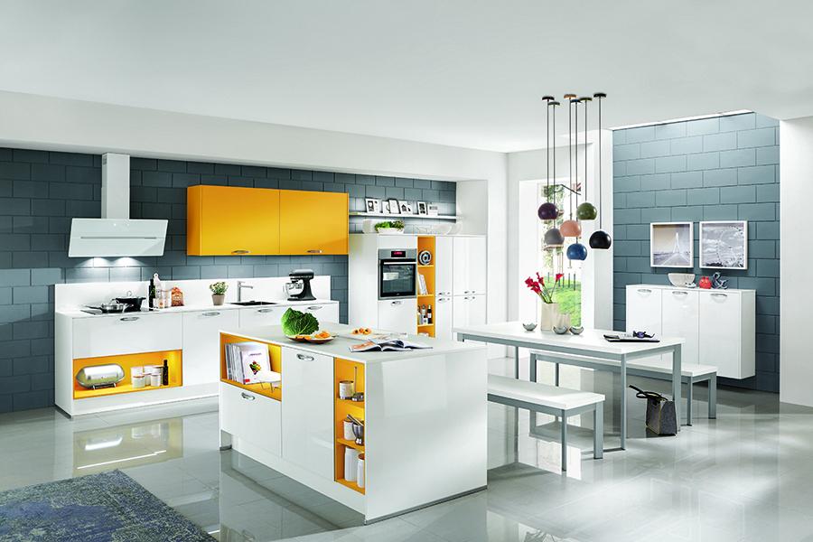 Simones Küchenblog, Farbe ist angesagt