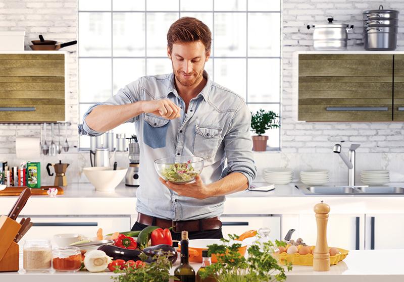 simones Küchenblog, Küche Mann