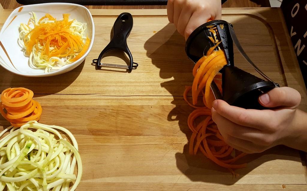Simones Küchenblog, Spiralschneider, günstig Küche kaufen